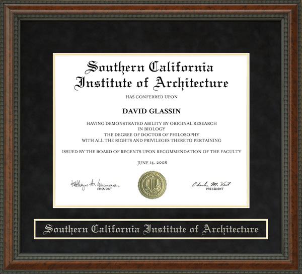 southern california institute of architecture (sci-arc) diploma