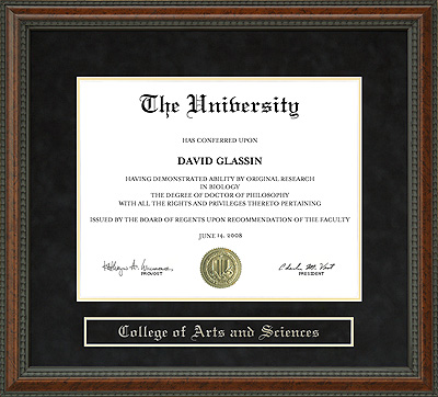Shoreline Community College Diploma Frame Wordyisms
