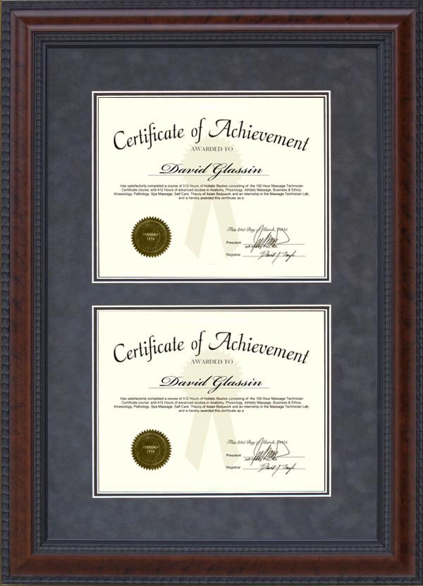 Similiar Dual Certificate Frame Keywords