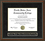 North Iowa Area Community College Diploma Frame