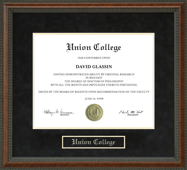 union college diploma frame wordyisms union college diploma frame