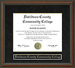 Davidson County Community College Diploma Frame