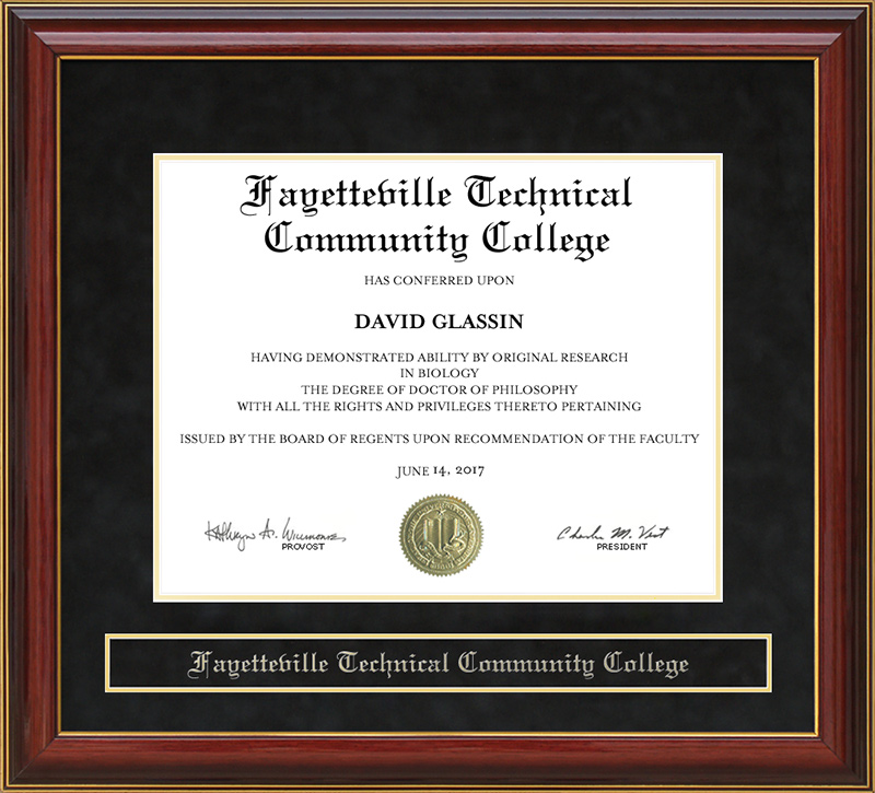 Fayetteville Technical Community College Ftcc Mahogany