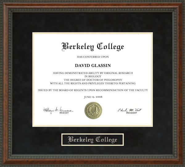 Uc Berkeley Graduation Certificate