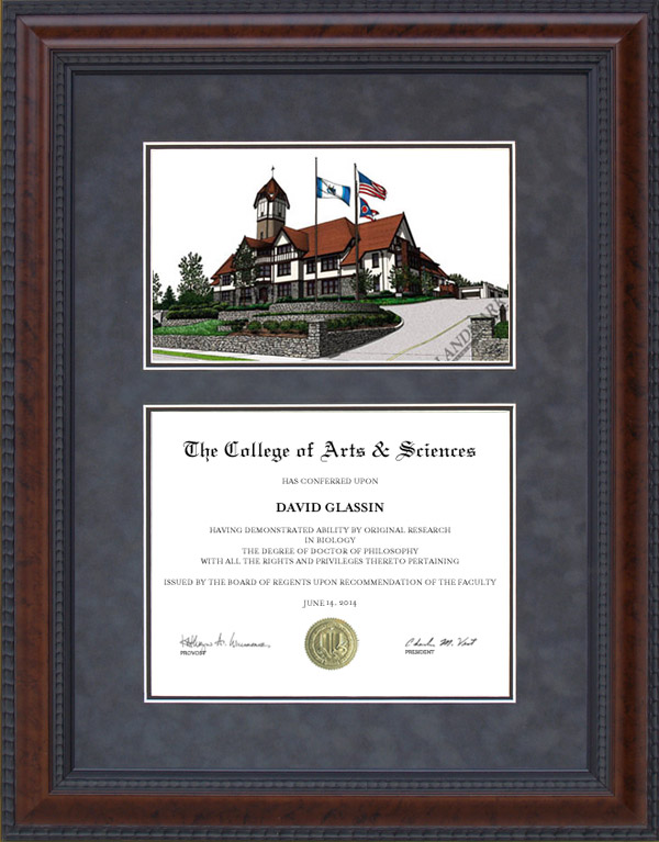 union institute university ui u diploma frames graduation  diploma frame union institute university ui u lithograph