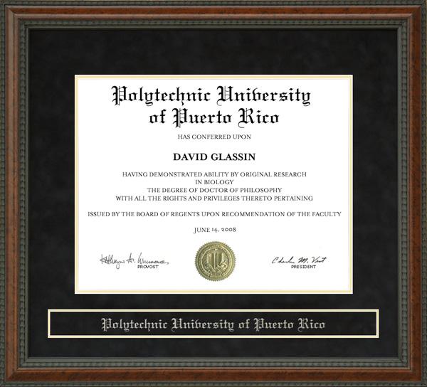 polytechnic university of puerto rico poly diploma frame wordyisms polytechnic university of puerto rico poly diploma frame