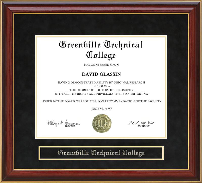 Greenville Technical College Greenville Tech Mahogany