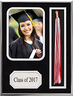 Modern Metal Graduation Tassel Photo Frame