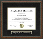 Angelo State University Diploma Frame