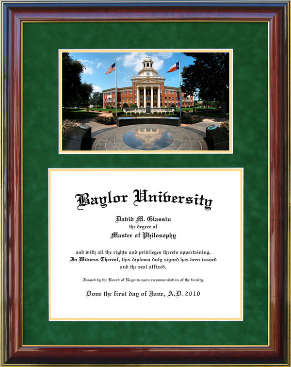 Baylor University Diploma Frames & Graduation Products: Wordyisms
