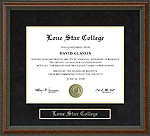Lone Star College Diploma Frame