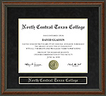 North Central Texas College (NCTC) Diploma Frame