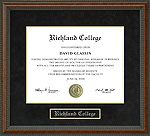 Richland College Diploma Frame