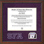 Stephen F. Austin Diploma Frame with Campus Photo