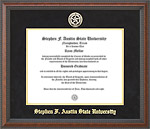SFA Classic Diploma Frame with Gold Embossed Mat