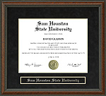 Sam Houston State University (SHSU) Diploma Frame
