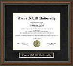 Texas A&M University (TAMU) Diploma Frame