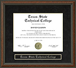 Texas State Technical College (TSTC) Diploma Frame