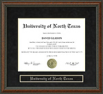 University of North Texas (UNT) Diploma Frame