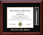 University of St. Thomas Tassel Diploma Frame