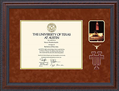 UT Austin 40 Acres Series Diploma Frame alternate image