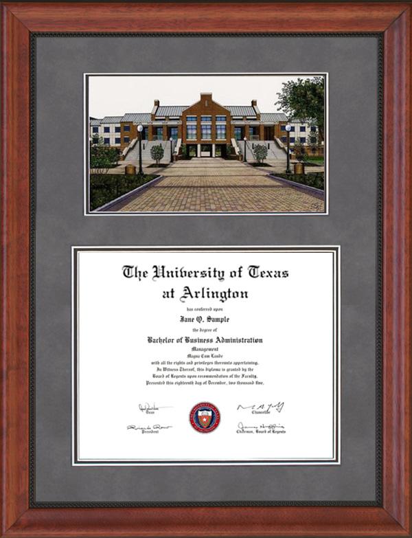 University of Texas at Arlington (UTA) Diploma Frames & Graduation ...