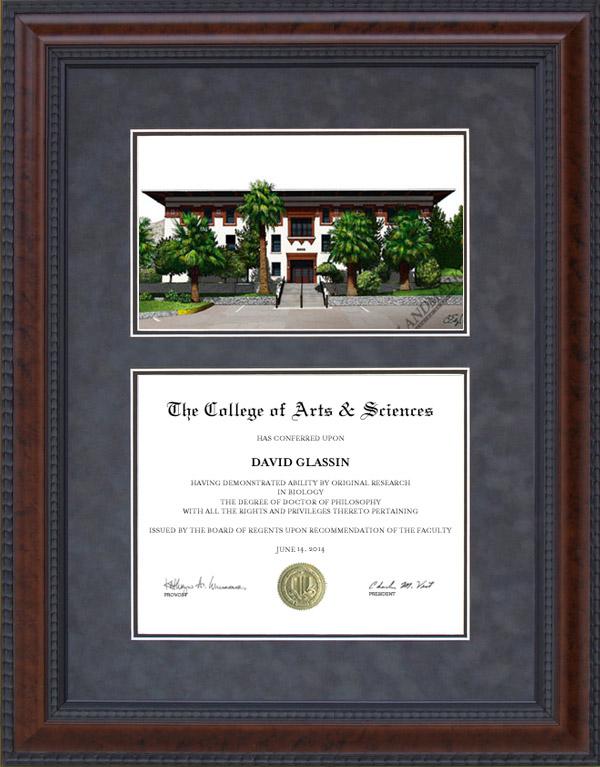 University of Texas at El Paso (UTEP) Diploma Frames & Graduation ...