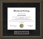 Westwood College Diploma Frame