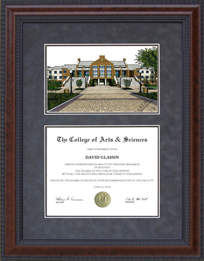 Diploma Frame With Licensed Ut Arlington Uta Campus