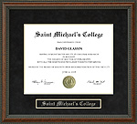 Saint Michael's College Diploma Frame