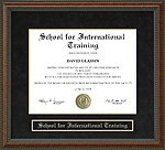 School for International Training (SIT) Diploma Frame