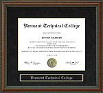 Vermont Technical College (VTC) Diploma Frame