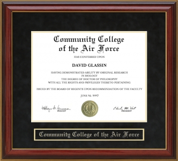 Community College Of The Air Force Ccaf Al Diploma Frames And Graduation Gifts By Wordyisms