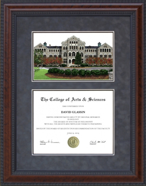 Catholic University of America Diploma Frame CUA Campus College Degree Gifts