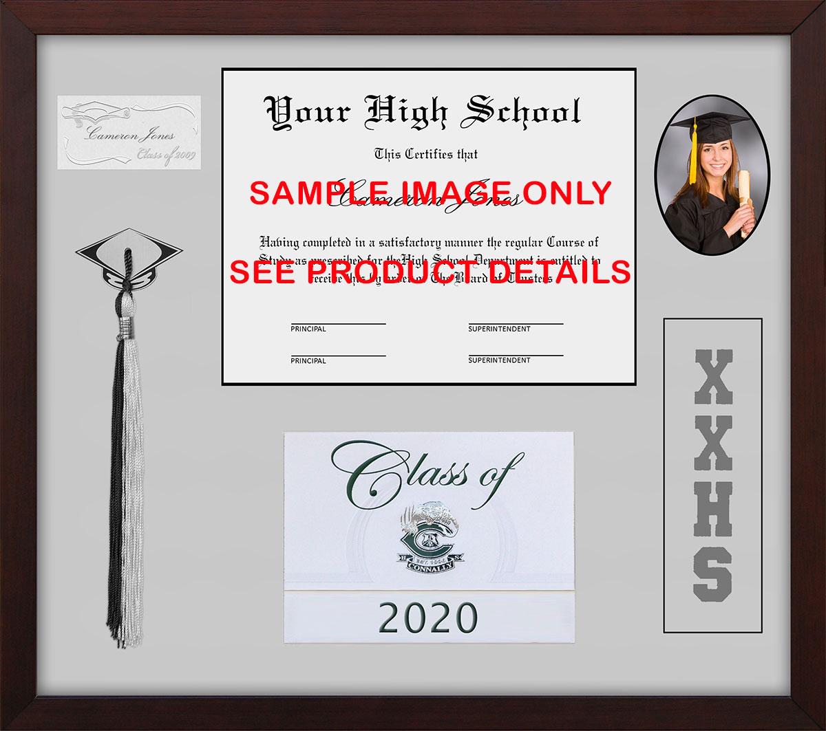Killeen High School Shadow Box Tassel Diploma Frame