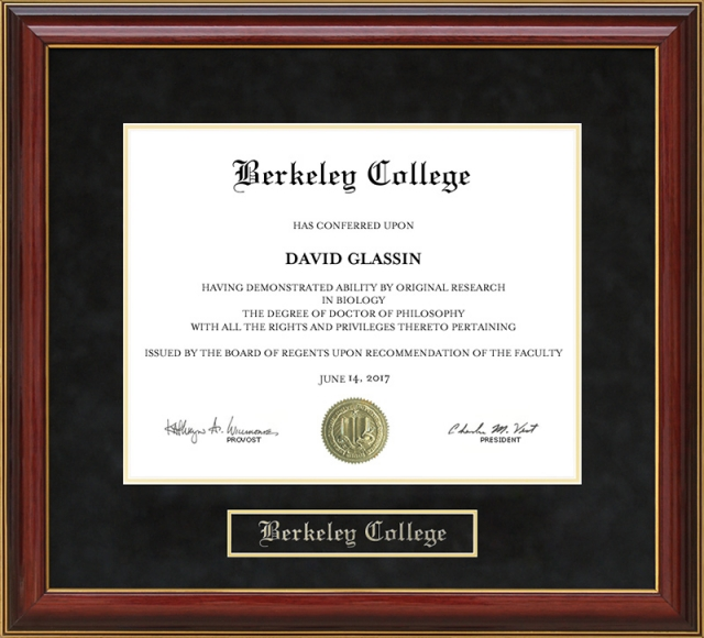 Prime Berkeley College Mahogany Diploma Frame By Wordyisms Home Interior And Landscaping Spoatsignezvosmurscom