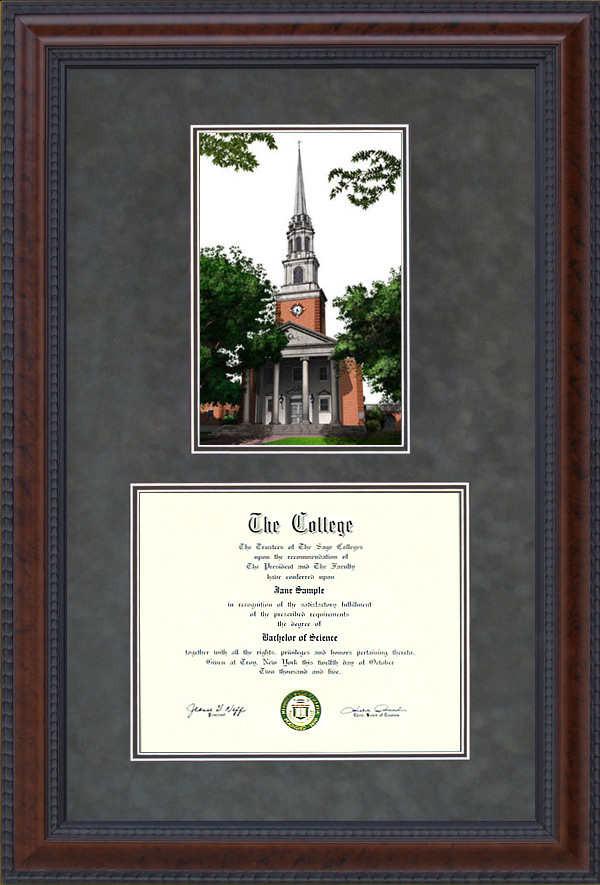 Diploma Frame With Licensed Texas Christian University