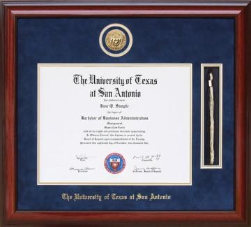 University Of Texas At San Antonio Utsa Tx Diploma Frames And Graduation Gifts By Wordyisms
